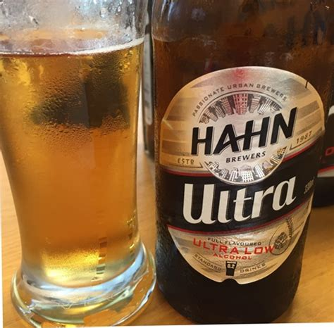 product snapshot hahn ultra beer catherine saxelbys foodwatch