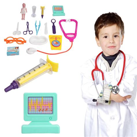 Opening Promo Mainan Anak Doctor 3 In 1 Mainan Dokter Dokt simulation doctor doctor play doctor toys set education play pretend