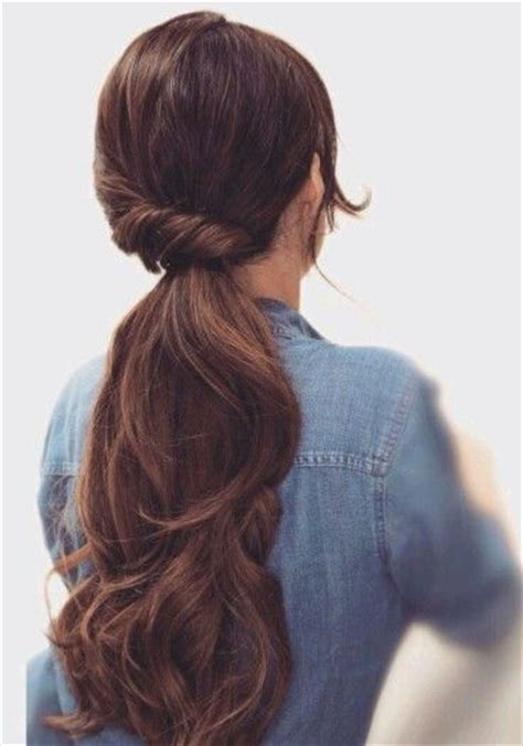 13 stunning ponytail hairstyles for curly hair pretty beautiful ponytail hairstyles pinterest ponytail