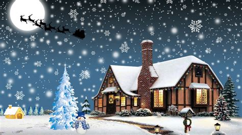 Christmas village hd wallpapers daily backgrounds in hd