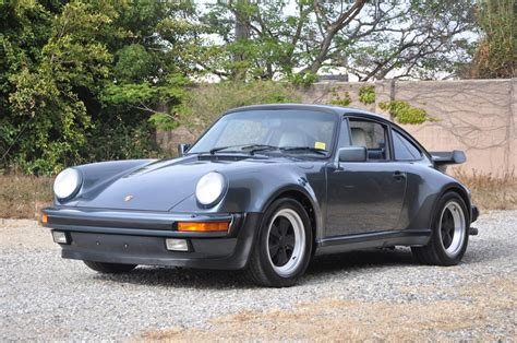 porsche 930 turbo blue 1987 porsche 930 turbo sunroof coupe european collectibles