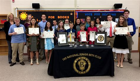 National Junior Beta Club Induction junior beta club 17709 vizualize
