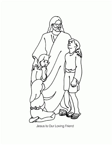 coloring page jesus everyone jesus everyone coloring page coloring home