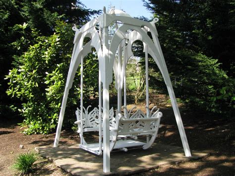 glider porch swing custom the ultimate garden glider swing by thomas marine