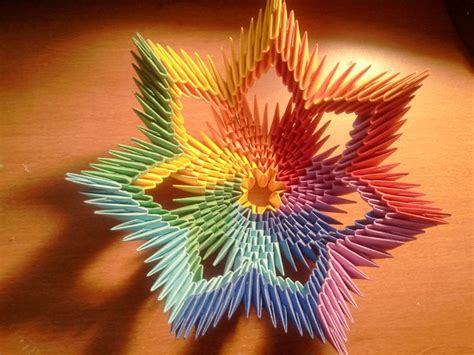 3d Origami Paper - 25 best ideas about 3d origami on modular