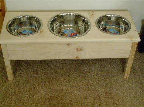 3 bowl feeder large 3 bowl elevated feeder