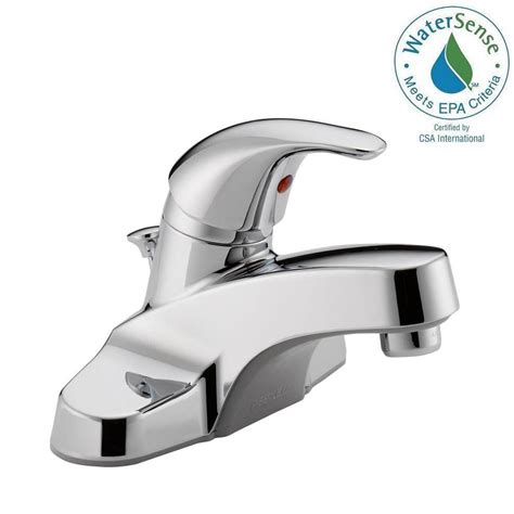 peerless faucets single handle widespread kitchen faucet peerless core 4 in centerset single handle bathroom