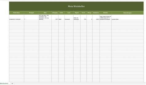 weinkellerverwaltung mit excel excel vorlagen f 252 r jeden - Weinkeller Excel