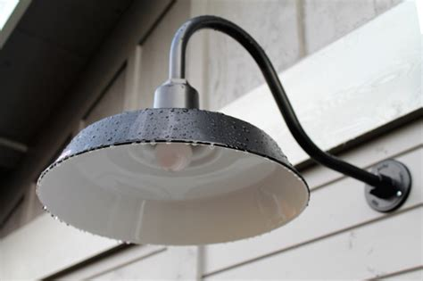 gooseneck barn light fixtures classic gooseneck lighting for oregon barn and workshop
