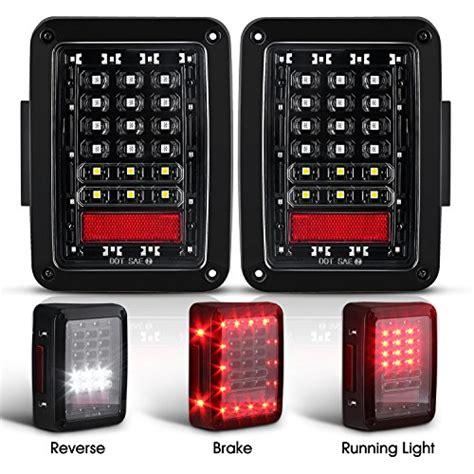 jeep back lights led lights for jeep wrangler jk jku 2007 2017 brake
