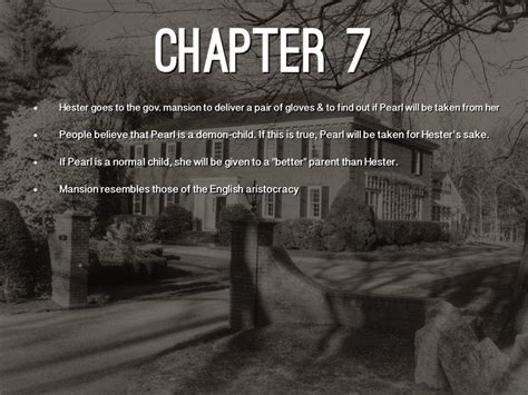 scarlet letter chapter 7 themes the scarlet letter by alyssa brockman