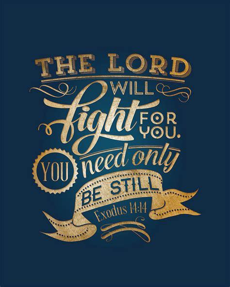 tattoo bible free download exodus 14 14 printable bible verse typography