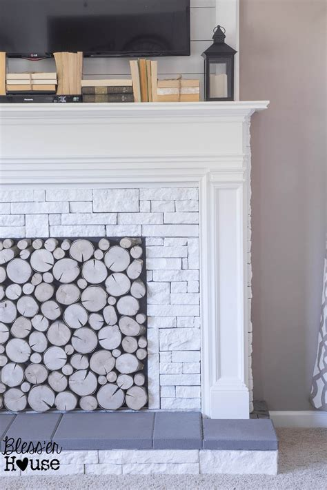 how to build a faux fireplace how to build a faux fireplace and mantel remodelaholic bloglovin