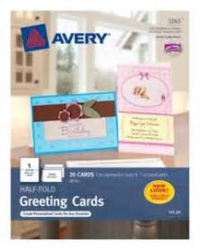 avery inkjet and laser embossed medium tent cards 2 12 x 8 12 white box of 100 by office depot