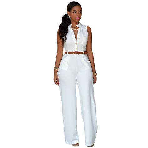 aliexpress jumpsuit brand womens rompers jumpsuit pant elegant white spring