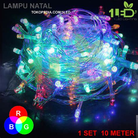 Lu Warna Led Warna Warni Led Twinkle Light Led String Warna Warni 2 jual lu natal led warna rgb twinkle light hias pohon dekor 1light