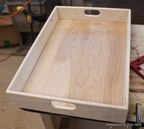 wood tray diy diy farmhouse style tray sweet pea