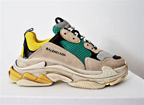 balenciaga s trainer sneakers shoes sizes on storenvy