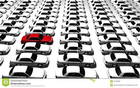 lots of lots of cars one stock image image 16493381