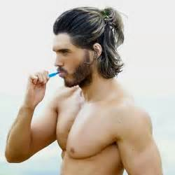 how to style half haircut for 20 awesome long hairstyles for men