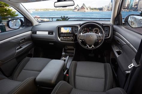 mitsubishi outlander 2016 interior mitsubishi cars news 2016 outlander on sale now from
