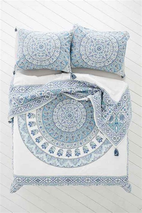 tumblr pattern bedding magical thinking devi medallion duvet cover urban outfitters
