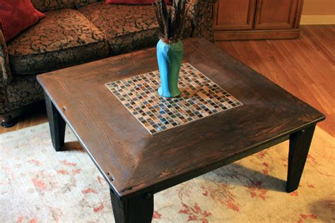 Wood Square Coffee Table Square Wood Coffee Table