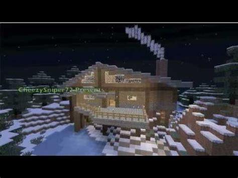 Minecraft Winter Cabin by Special Minecraft Builds Season 2 Episode 6