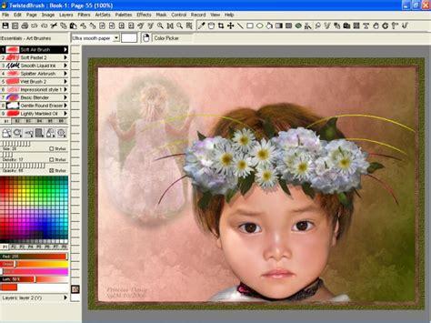 painting software twistedbrush pro studio shareware digital paint software