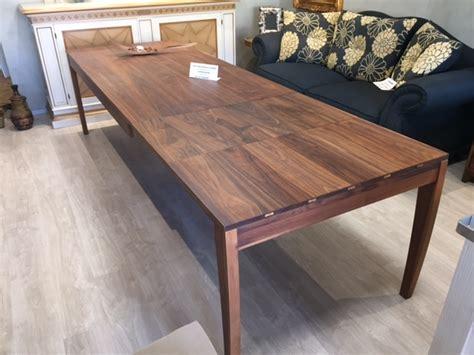 tavolo allungabile tavolo allungabile in legno di noce arte brotto tavoli a