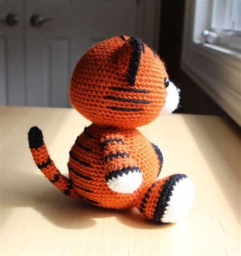 amigurumi pattern tiger buy cubby the tiger amigurumi pattern amigurumipatterns net