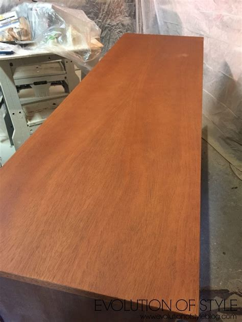 Painting Furniture Stained And Painted Mix