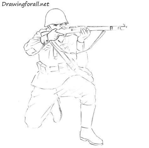 how to draw a army boat step by step drawn soldiers war drawing pencil and in color drawn