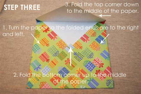 What To Make With Scrapbook Paper - scrapbook paper envelope