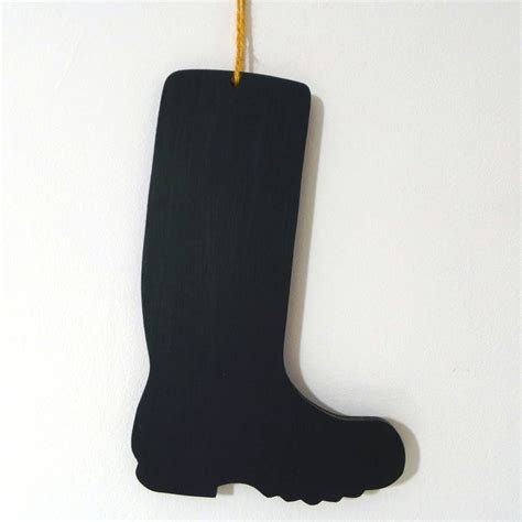 boot shaped wellington boot shaped chalkboard by the blueberry patch