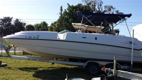 chaparral boat depth finder chaparral 252 boats for sale