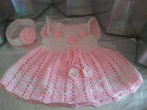 vestidos tejidos a crochet para bebes pin chalecos tejidos para bebes ninos palillo crochet