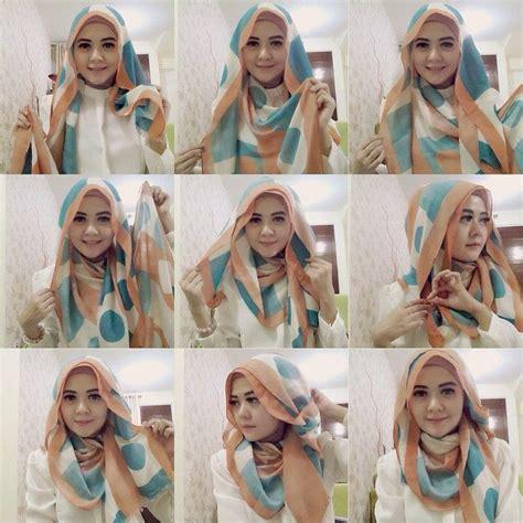 Jilbab Segi Empat Dibuat Pashmina cara memakai jilbab segi empat kreasi remaja modis
