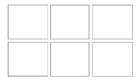 6 panel comic template 2015 2016 resources