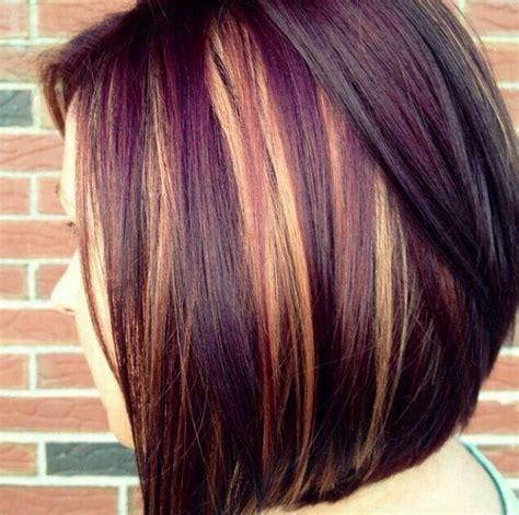 Deep Burgundy Hair Color Pictures