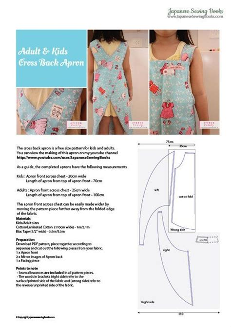 pattern cross back apron free pattern aprons and apron pattern free on pinterest