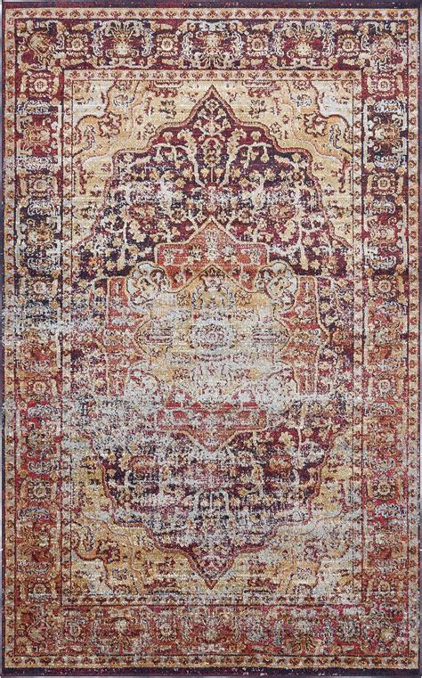 Medallion Style Rugs Traditional Carpets Over Dyed Vintage Looking Rugs