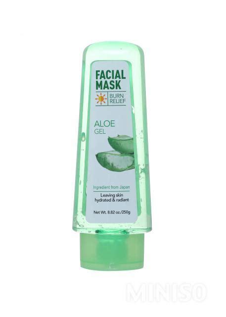 Miniso Moisturizing Spray Streamer burn relief aloe gel mask miniso australia