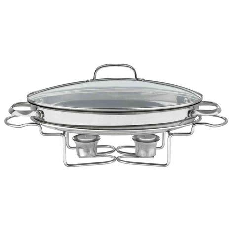 cuisinart buffet server cuisinart classic entertaining 13 5 in 2 5 qt stainless oval buffet server 7bso 34 the