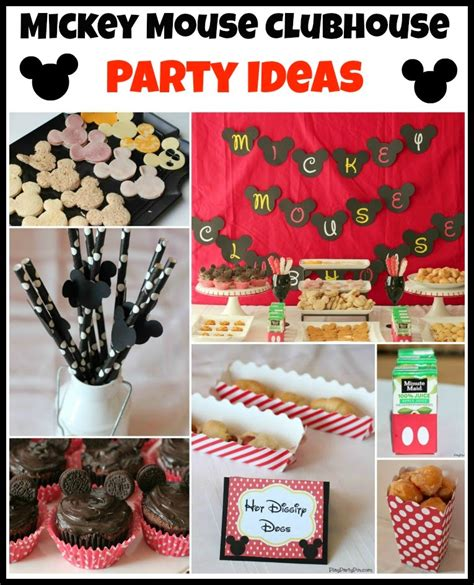 printable mickey mouse party decorations mickey mouse clubhouse party ideas free mickey mouse