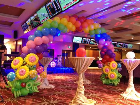 balloon decoration ideas for birthday at home