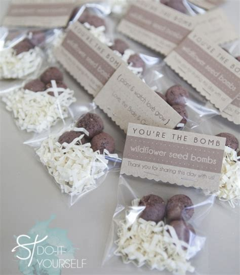 How To Make Wedding Giveaways - diy seed bomb favors gifts by jen carreiro project papercraft home decor