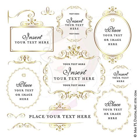 Wedding Program Clipart by The Gallery For Gt Border Black And White Clipart