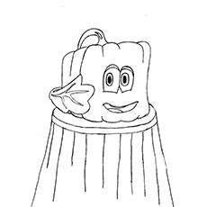 square pumpkin coloring pages spookley the square pumpkin clipart clipartxtras