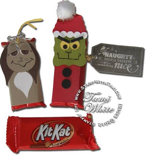 Kitkat Maxy the grinch who stole kit kats by the tamster at